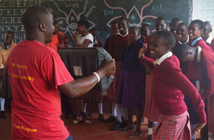 Kakenya Center for Excellence provides health and leadership training for teen girls.