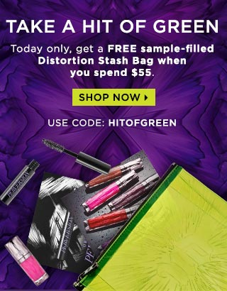 Receive a free 3-piece bonus gift with your $55 Urban Decay purchase