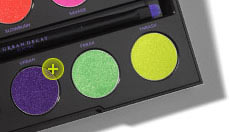 Electric palette shade