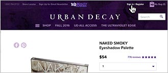 Log into your UD account.