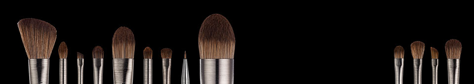 The tools you need. Brushes and more to apply your makeup like a pro.