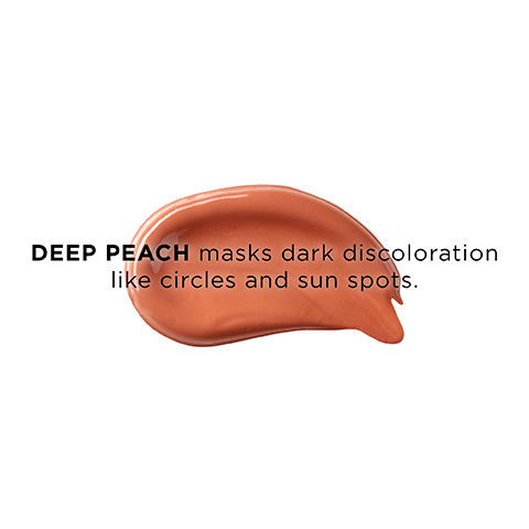 Color correcting tip for using Deep Peach.