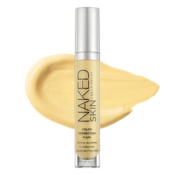 Naked Skin Color Correcting Fluid - Yellow