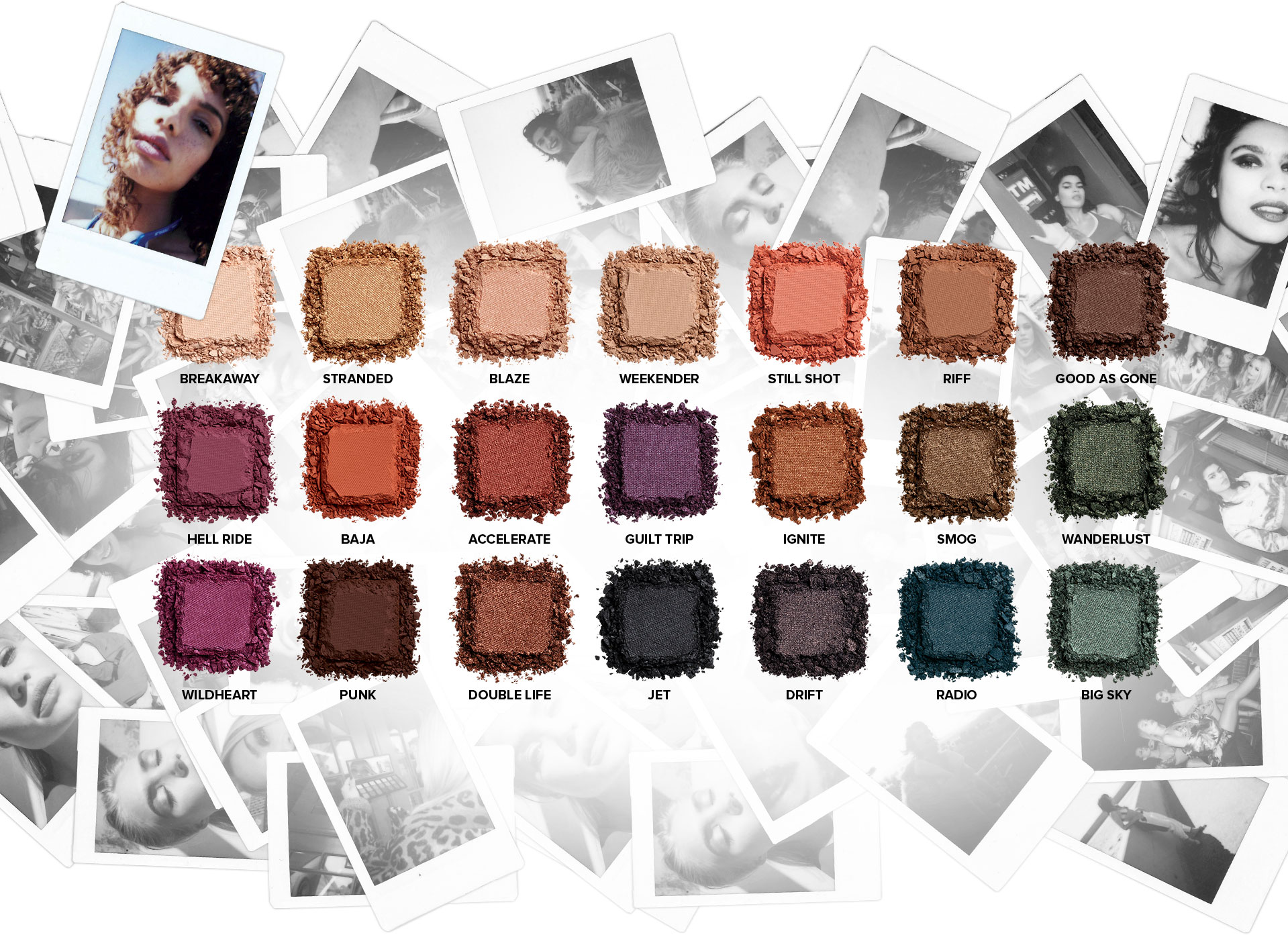 Urban Decay | Born To Run pallette