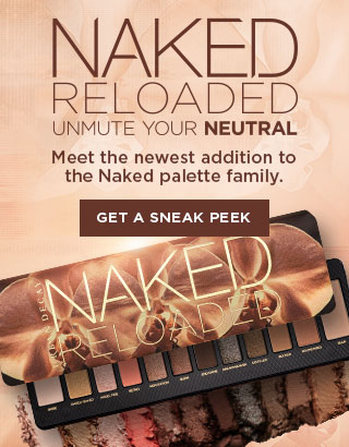 Naked Reloaded. Meet the newest addition to the Naked Palette Family. Get a sneak peek >