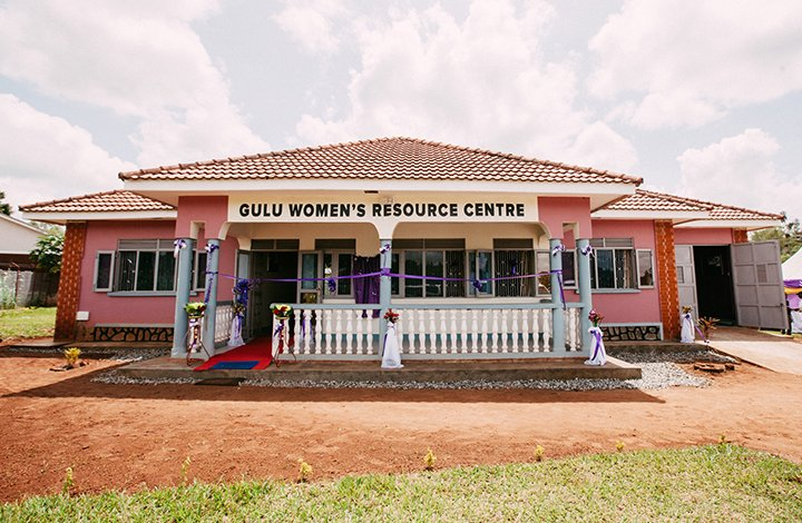 WGEF opened Gulu Women's Resource Center with the help of The Ultraviolet Edge