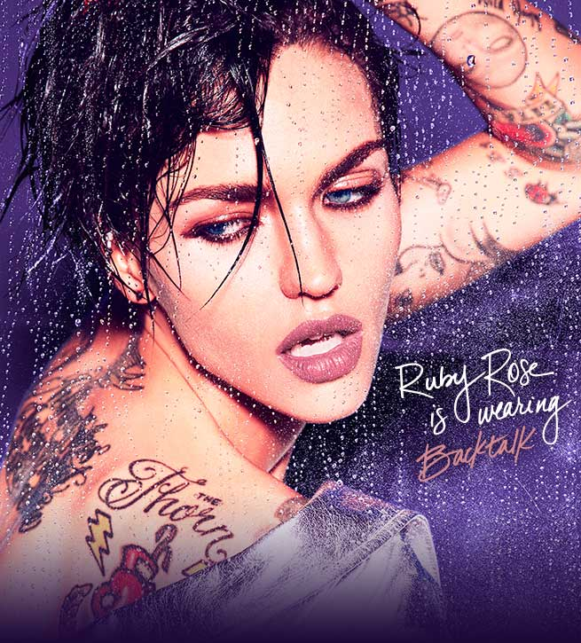 Ruby Rose is wearing Backtalk