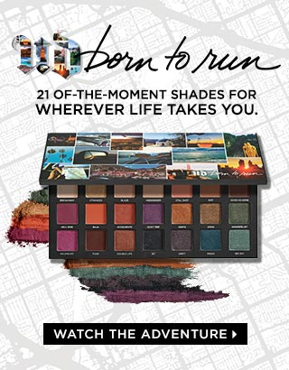Urban Decay Born to Run Palette | 21 Shades For Endless Options...Wherever Life Takes Youy