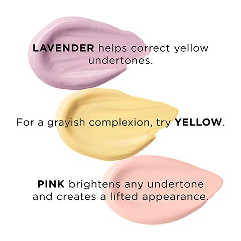 Color correcting tips to neutralize and brighten.
