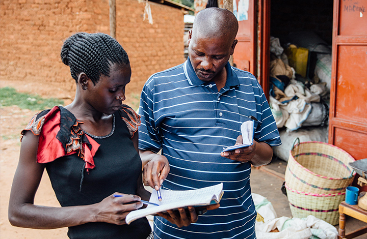 WGEF provides women with microfinance loans and business training