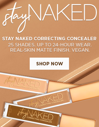 The Stay Naked Concealer. Shop Now >