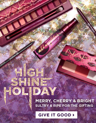 Merry, Cherry & Bright. Sultry & ripe for the gifting. Give it good >