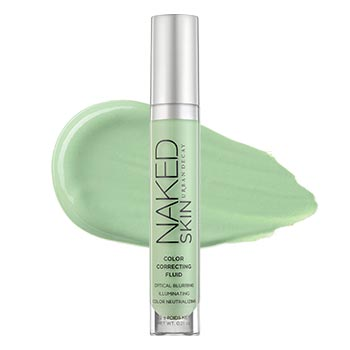 Naked Skin Color Correcting Fluid - Green