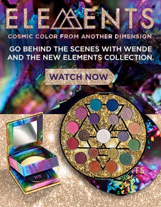 Wende Reveals the Elements Collection | NEW from Urban Decay