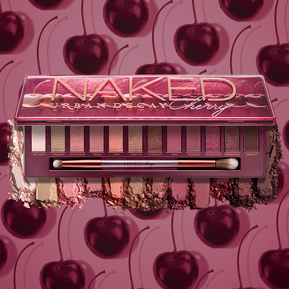 Naked Cherry Eyeshadow Palette | NEW from Urban Decay
