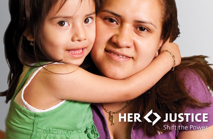 Her Justice women and children