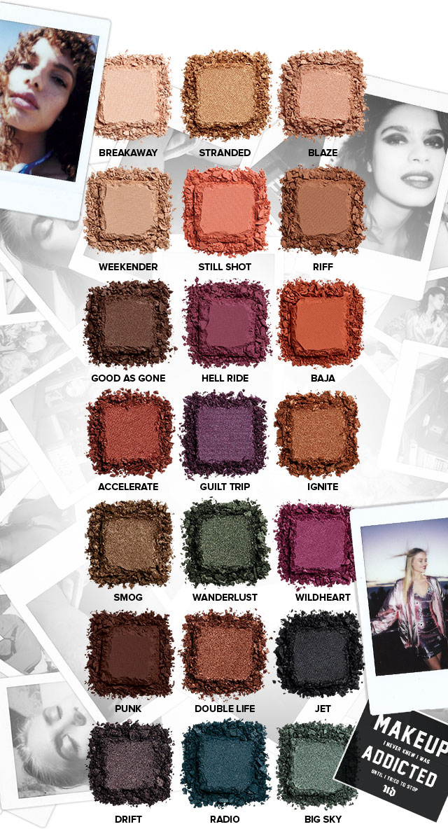 ... Urban Decay | Born To Run pallette