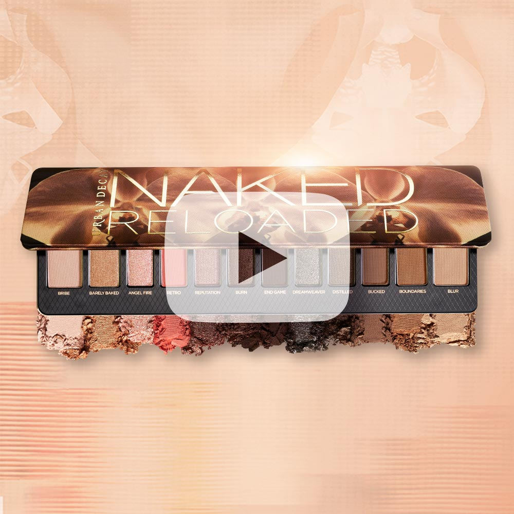Naked Reloaded Eyeshadow Palette | NEW from Urban Decay