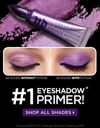 #1 Eyeshadow Primer! Shop all shades >