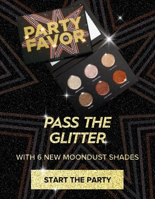 Pass the glitter with 6 new Moondust shades. Get It Now >
