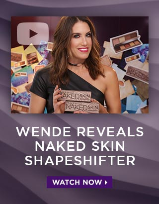 WENDE REVEALS NAKED SKIN SHAPESHIFTER. WATCH NOW >