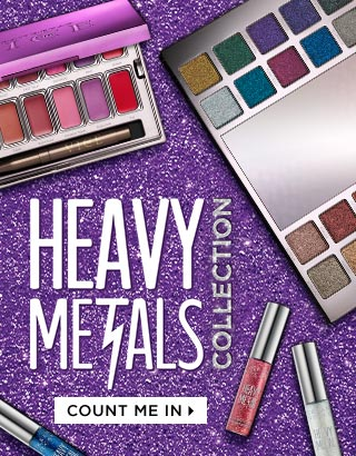 LIVE NOW: THE HEAVY METALS COLLECTION. NEVER THOUGHT YOU'D BE A HEAVY METAL GROUPIE, DID YOU? COUNT ME IN >