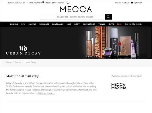 MECCA: Australia's BIGGEST Beauty Launch.