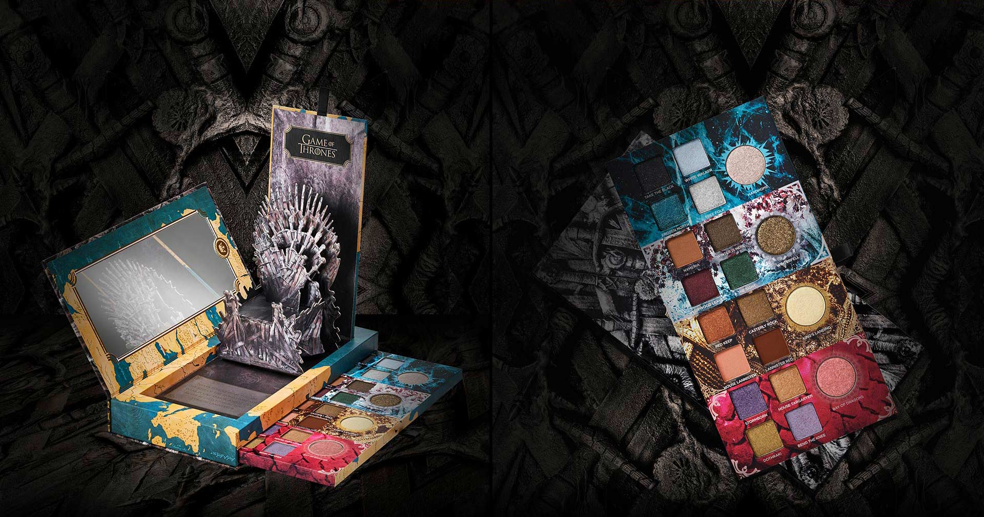 Risultati immagini per urban decay game of thrones