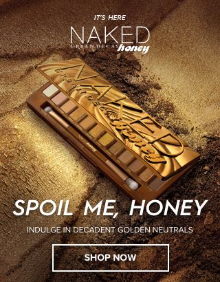 Spoil me, Honey. Indulge in decadent golden neutrals. Shop Now >